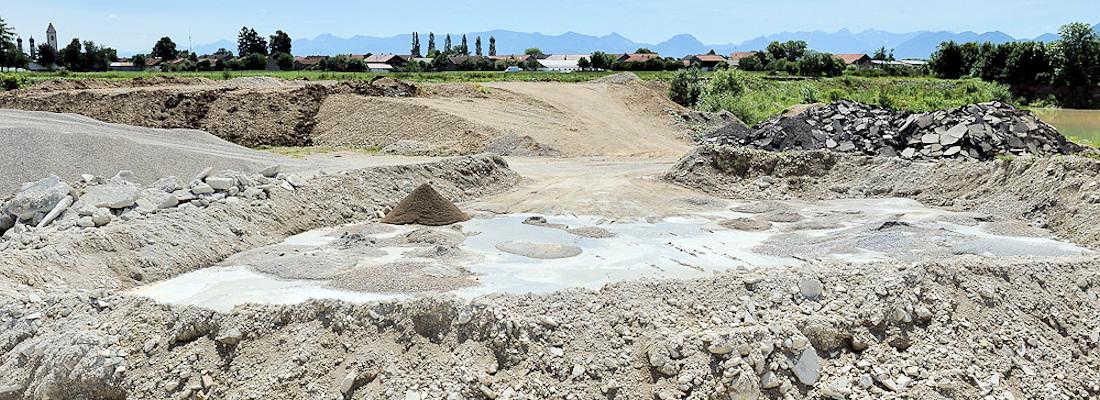 Entsorgung von Aushubmaterial Betonbruch und Asphalt in Bruckmühl